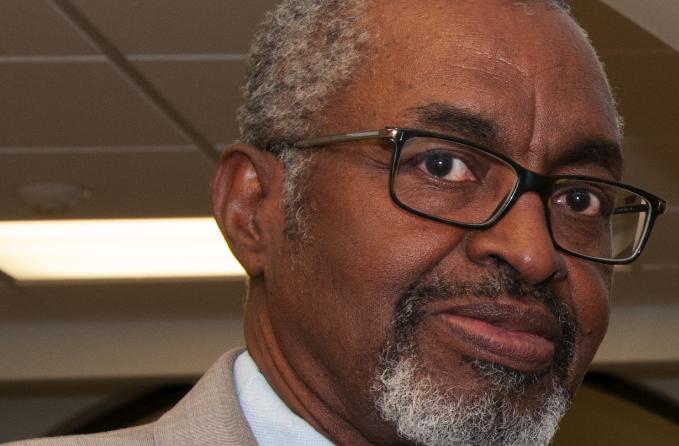 Dr. Dyremple Marsh, retiring dean of CAST