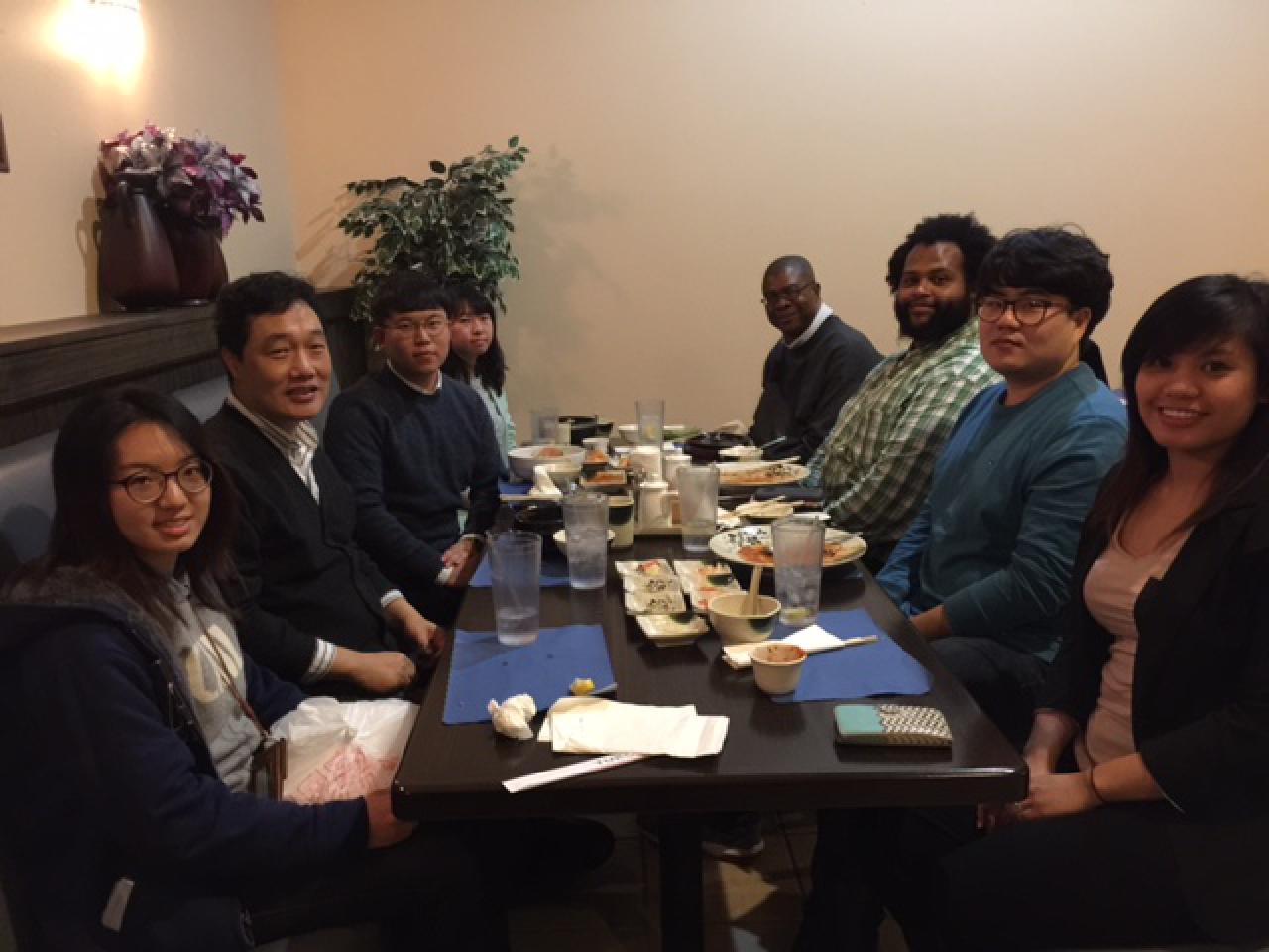 2017 group dinner